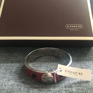 Coach Stars Bangle Bracelet NWT